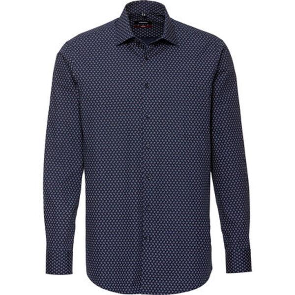 Seidensticker Herren Businesshemd, 1/1-Arm, Kent, Modern Fit