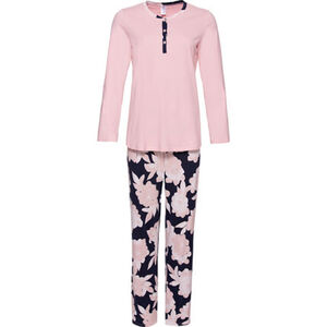Calida Pyjama, lang, Soft Jersey, für Damen