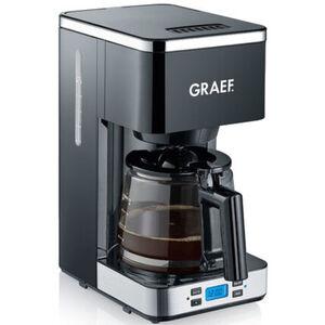 Graef Filterkaffeemaschine FK 502, schwarz/edelstahl