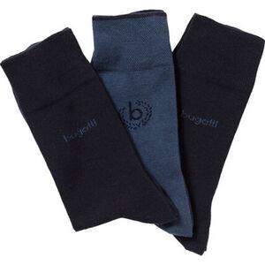 Bugatti Herren Socken, 3er Pack