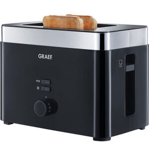 Graef Toaster TO 62, schwarz