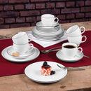 """Bild 2 von Seltmann Weiden Porzellan Kaffee-Set """"Lido"""", rund, 18-teilig"""