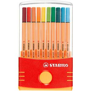 Stabilo Fineliner Point 88, 20er- Color-Parade, mehrfarbig
