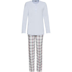 Schiesser Schlafanzug, 2-teilig, Single-Jersey