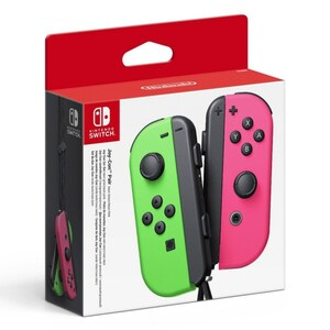 Nintendo - Switch. Joy-Con Controller 2er Set, Neon pink/grün