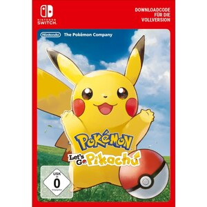 Nintendo Switch: Pokémon Let's Go, Pikachu! (Digitaler Download)