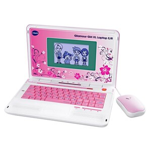 VTech - Glamour Girl XL Laptop E/R