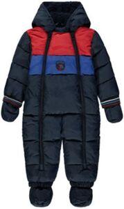 Baby Overall mit Kapuze  dunkelblau Gr. 86 Jungen Kleinkinder