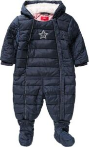 Baby Schneeanzug  dunkelblau Gr. 80 Mädchen Baby