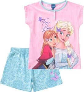Disney Die Eiskönigin Schlafanzug  pink Gr. 140/146 Mädchen Kinder