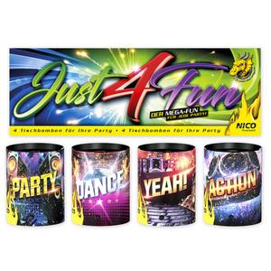Nico Feuerwerk Just 4 Fun Mini-Tischbomben
