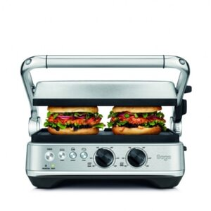 Sage Appliances SGR700 BBQ & Press™ Grill inkl. Waffelplatten