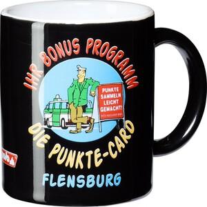 """POLO Tasse """"Punkte-Card Flensburg"""""""