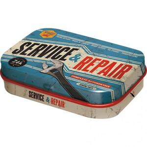 """Nostalgic-Art Pillendose """"Service & Repair"""""""