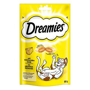 6 x 60g Dreamies Katzensnack mit Käse (Multipack)