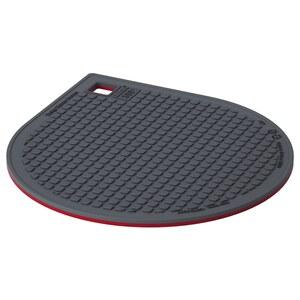 IKEA 365+ GUNSTIG                                Topfuntersetzer magn., rot, dunkelgrau