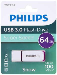 PHILIPS  USB-Stick Snow Purple »FM64FD75B/00«