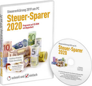 CD-ROM »Steuer-Sparer 2020«