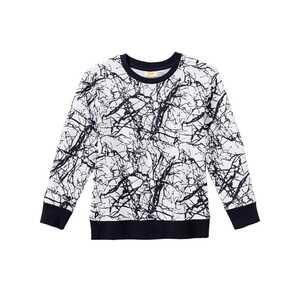 Jungen-Sweatshirt mit coolem Muster