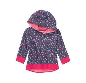 Baby-Mädchen-Sweatshirt mit Herzmuster