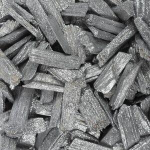 Streudeko - Holzflakes - 600 ml - silber
