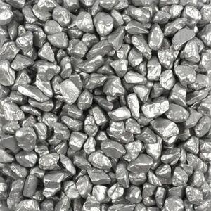 Dekosteine - silber - 550 g