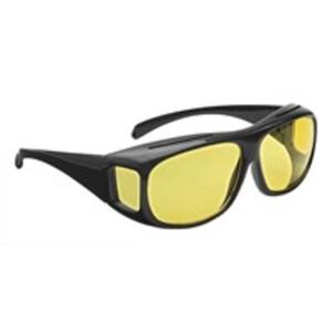 WEDO® Nachtsichtbrille/ Überbrille für Brillenträger inkl. Hülle, 1 Stück