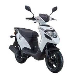 Explorer Iron 50 Motorroller 2016 weiß, 45 km/h