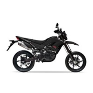 Explorer Gravity 125 Motorrad, schwarz, 95km/h