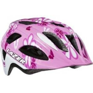 Lazer Fahrradhelm P´Nut, Flower Pink, Größe 46-50 cm