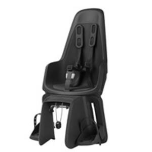 Bobike Kindersitz ONE Maxi, Fahrradkindersitz in Schwarz, 1 Stück