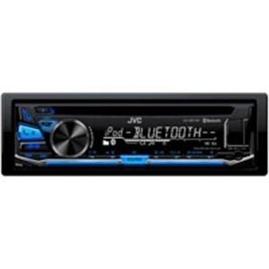 JVC KD-R871BT Autoradio mit CD/USB, Bluetooth-Freisprecheinrichtung und iPod-/iPhone/Android-Smartphone-Kompatibilität, 1-DIN