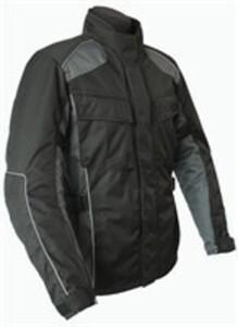 Kamo Motorradjacke, schwarz/grau, Gr. L