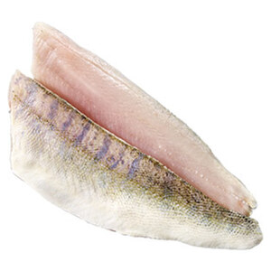 Zanderfilet mit Haut,Wildfang, Binnenfischerei, Osteuropa, getaut, je 100 g