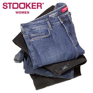 Damen-Jeans versch. Modelle, versch. Farben und Größen, ab