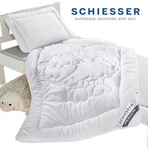 Kinder- Betten-Set 2-teilig, atmungsaktiv und temperaturausgleichend, bestehend aus: 1 Steppdecke, 100 x 135 cm und 1 Kopfkissen, 40 x 60 cm