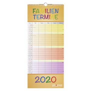 Notizkalender/Familienplaner 2020