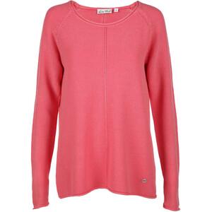Damen Sweatshirt mit Piqué Struktur
