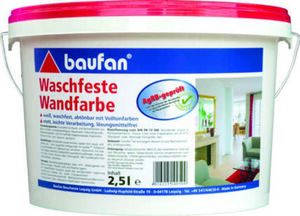 Baufan Waschfeste Wandfarbe