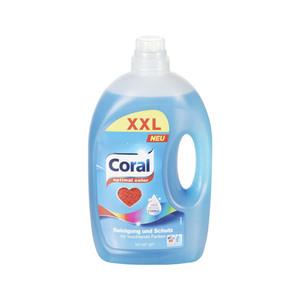 Coral Flüssigwaschmittel optimal color 3 Liter XXL 60WL