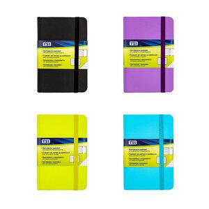 Notizbuch DIN B7 mit 100 Blatt kariert in verschiedenen Farben