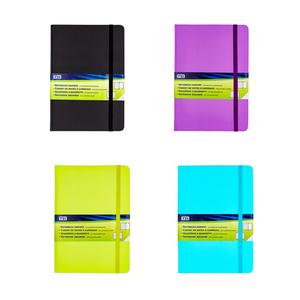 Notizbuch DIN A5 mit 100 Blatt kariert in verschiedenen Farben