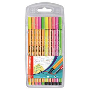 """Stabilo Stift """"point 88"""" in Neon 10 Stück"""