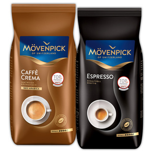 Mövenpick Caffè Crema, Gusto Italiano oder Espresso