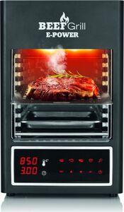 GOURMETmaxx Elektro-Oberhitzegrill Beef Maker 6-tlg