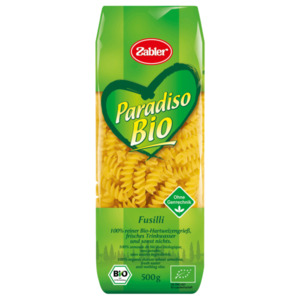 Zabler Paradiso Bio Fusilli 500g