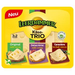 Leerdammer Trio Scheiben 125g