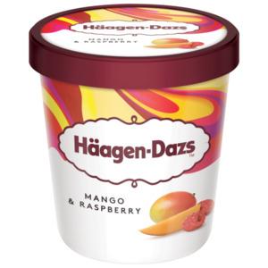 Häagen-Dazs Mango & Raspberry Eis 460ml