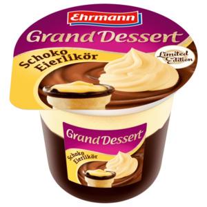 Ehrmann Grand Dessert Schoko Eierlikör 190g