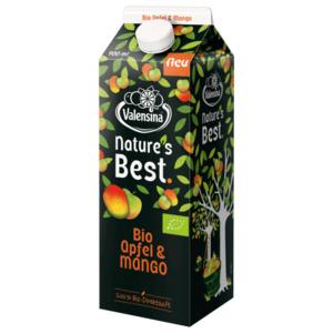 Valensina Nature's Best Bio Apfel und Mango 900ml
